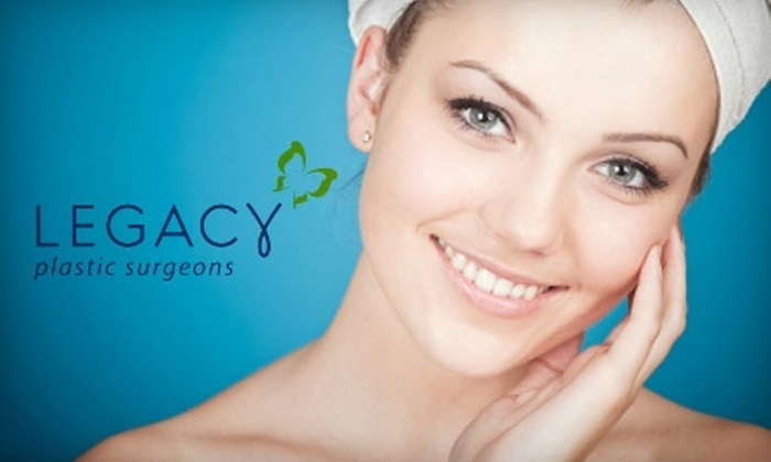 Legacy Plastic Surgeons - Downtown: $59 for Microdermabrasion Treatment at Legacy Plastic Surgeons ($125 Value)