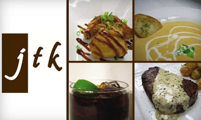 JTK Cuisine & Cocktails - Lincoln: $20 for $40 Worth of Upscale Bistro Fare and Drinks at JTK Cuisine & Cocktails