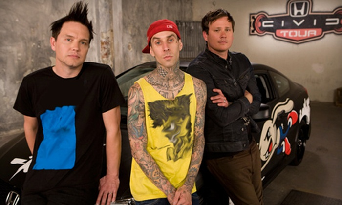 blink-182 - Southwest Calgary: One Ticket to See blink-182 at Scotiabank Saddledome on August 28 at 7 p.m. (Up to $75.50 Value)