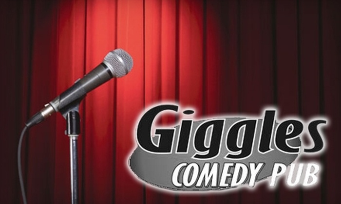 Giggles Comedy Pub - Brookfield: $20 for Six Weekend Tickets to Giggles Comedy Pub