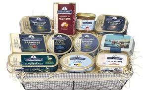 Pointe de Penmarc'h: Bon d'achat de 50 € à 25 €, sur une large gamme de conserves et recettes de la région bretonne sur Pointe de Penmarc'h