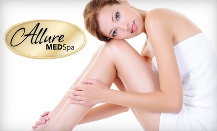 Allure MedSpa: Six Laser Hair-Removal Treatments on a Small Area  - Allure MedSpa in Stafford