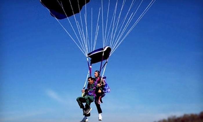 Falcon Skydiving Team - Waldron: $129 for a Tandem Skydiving Jump from Falcon Skydiving Team in Waldron