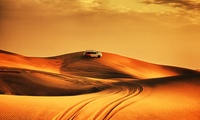 Desert Safari with Optional Doorstep Pick-Up for Up to Four with UAE Package (Up to 70% Off)