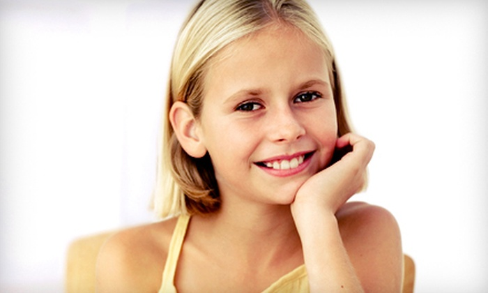 Healthy Teeth 4 Kids - Bellevue : Pediatric-Dentistry Package or Custom-Fitted Athletic Mouth Guard at Healthy Teeth 4 Kids (Up to 83% Off)