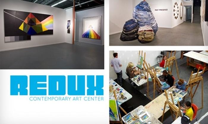 Redux Contemporary Art Center - Radcliffeborough: $50 for a Patron-Level Membership to Redux Contemporary Art Center ($150 Value)