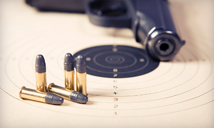 10-32 Firearms Training - Boise: Basic Pistol Conceal-and-Carry or Marksmanship Class at 10-32 Firearms Training (Up to 52% Off)