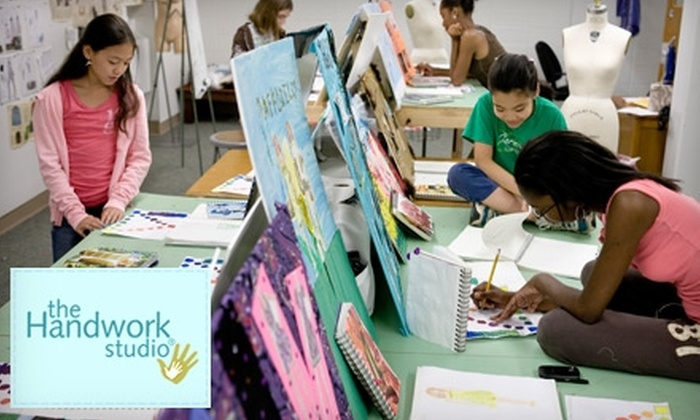 The Handwork Studio - Narberth: $40 for Two Two-Hour Kids Craft Workshops