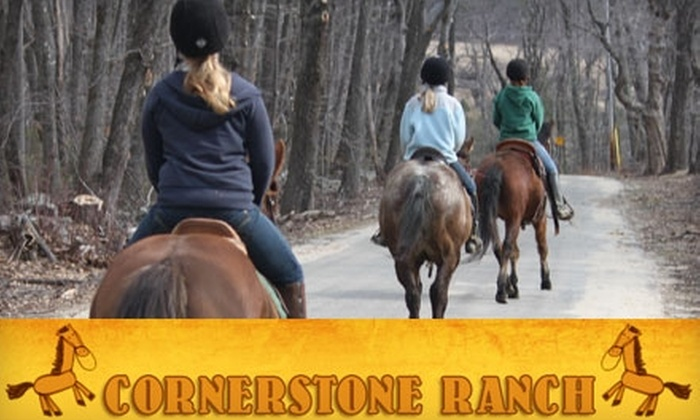 Cornerstone Ranch - Princeton: $35 for an Approximately Two-Hour Guided Trail Ride at Cornerstone Ranch