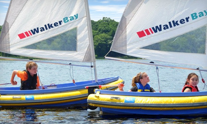 Northern Breezes Sailing School - Robbinsdale - Crystal - New Hope: Weeklong Half- or Full-Day Sailing Camp for Kids Ages 8–16 at Northern Breezes Sailing School in Plymouth (Half Off)