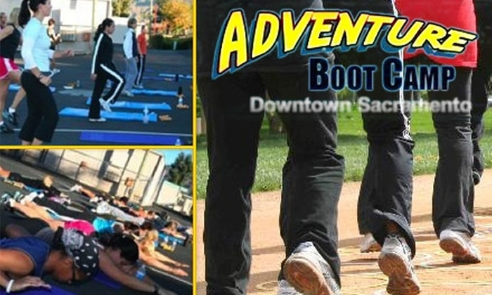 Adventure Boot Camp - Central Sacramento: $35 for 12 Intensive, Outdoor Boot-Camp Sessions at Adventure Boot Camp ($199 Value)