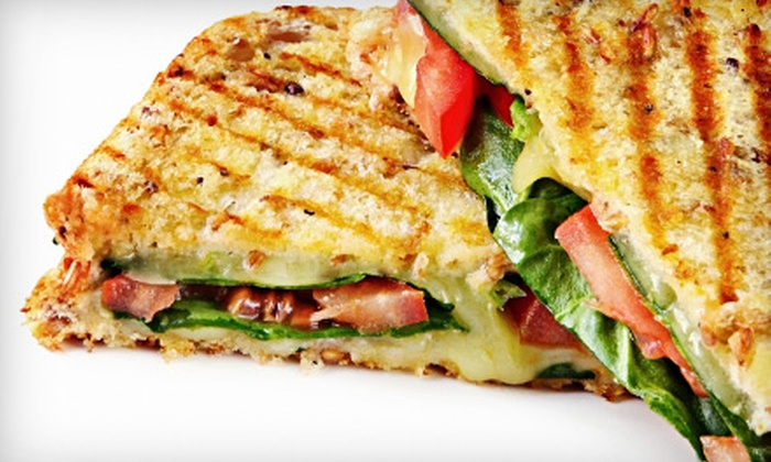 Hyper Coffee - Downtown Arcadia,East Pasadena: $13 for Lunch with Sandwiches and Drinks for Two at Hyper Coffee in Arcadia (Up to $26.88 Value)