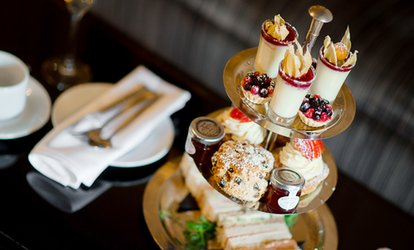 image for AA Rosette Afternoon Tea with a Glass of Prosecco for Two or Four at The Great Hallingbury Hotel