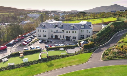 Co. Donegal: 1 or 2 Nights for Two with Breakfast and Option for Spa Treatment at the 4* Ballyliffin Lodge Hotel and Spa
