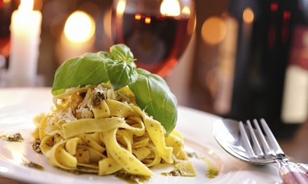Three-Course Italian Meal with Wine for Two or Four at Andrea's Restaurant (Up to 53% Off)