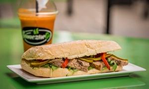 SmaczneGo: Zupa dnia oraz dowolne panini (22,90 zł) z sokiem (35,99 zł) dla 2 osób i więcej opcji w SmaczneGo