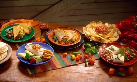 Catering de cocina nacional o mexicana para 12 o 24 personas desde 54,95 € Oferta en Groupon