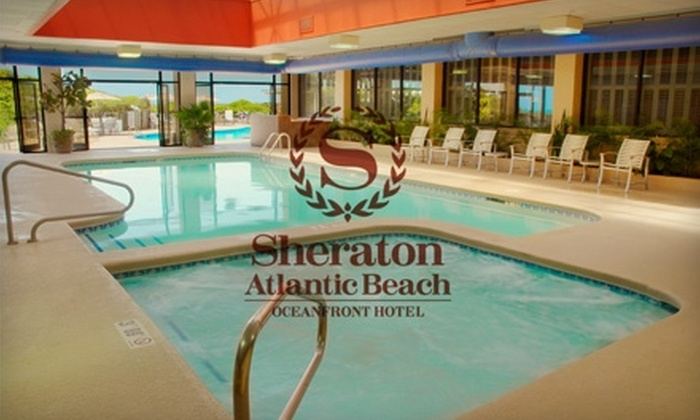 Sheraton Atlantic Beach Oceanfront Hotel - Atlantic Beach: Two-Night Stay at the Sheraton Atlantic Beach Oceanfront Hotel. Choose Between Two Options.