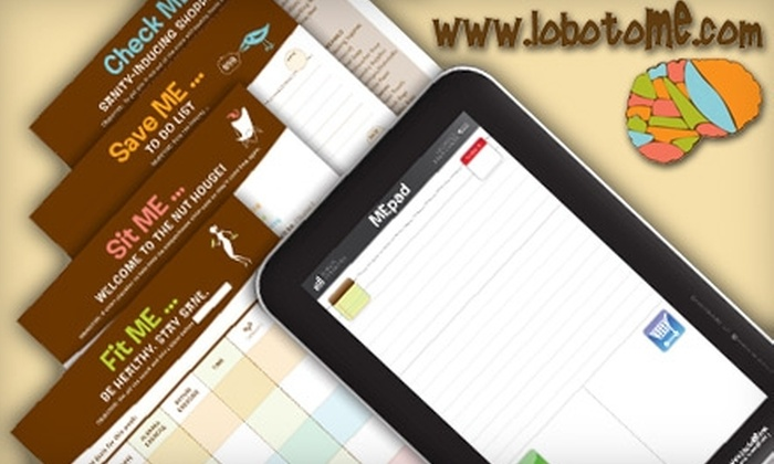 lobotoME: $5 for $10 Worth of Notepads and Planners from LobotoME Online