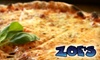 Zoe's Lounge - Springfield: $7 for $15 Worth of Pub Fare and Drinks at Zoe's Lounge