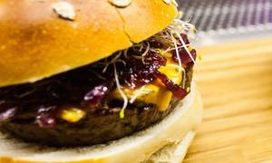 Conta: Menu hamburger gourmet con antipasto e gin and tonic per 2 persone all'hamburgeria Conta in centro storico (sconto 50%)