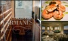 Armani's - Northwest Tampa: $25 for $50 Worth of High-End Italian Cuisine at Armani's
