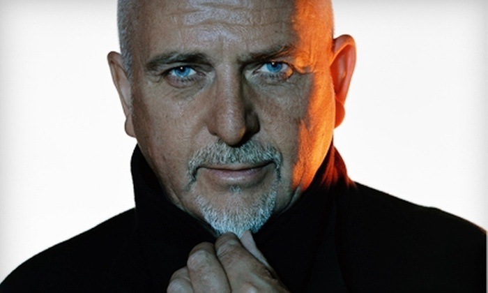 Peter Gabriel at The Cynthia Woods Mitchell Pavilion - The Woodlands: Peter Gabriel at The Cynthia Woods Mitchell Pavilion