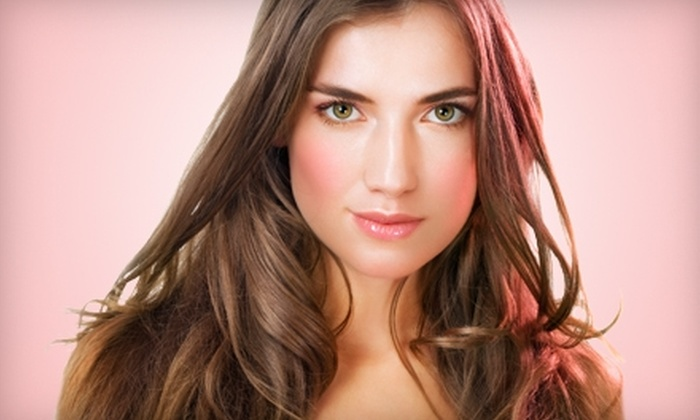 Mitchell John Salon - Downtown: $25 for a Professional Blowout and Living Proof Mousse at Mitchell John Salon ($59 Value)