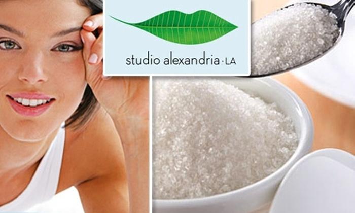 Studio Alexandria LA - West Los Angeles: $45 for $100 Worth of Body Sugaring at Studio Alexandria LA