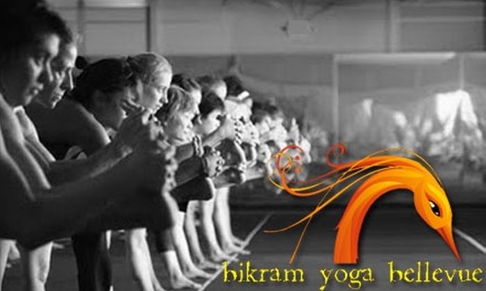 Bikram Yoga Bellevue - Downtown Bellevue: $30 for One Month of Unlimited Yoga at Bikram Yoga Bellevue ($140 Value)