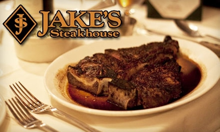 Jake's Steakhouse - Fieldston: $25 for $50 Worth of Steaks, Seafood, and More at Jake's Steakhouse in the Bronx