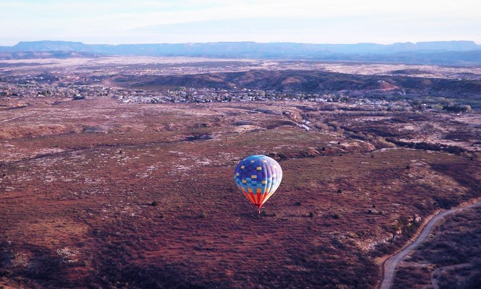 Verde Valley Balloons - Cottonwood: Hot-Air Balloon Ride with Champagne and Snack for One or Two from Verde Valley Balloons (Up to 42% Off)