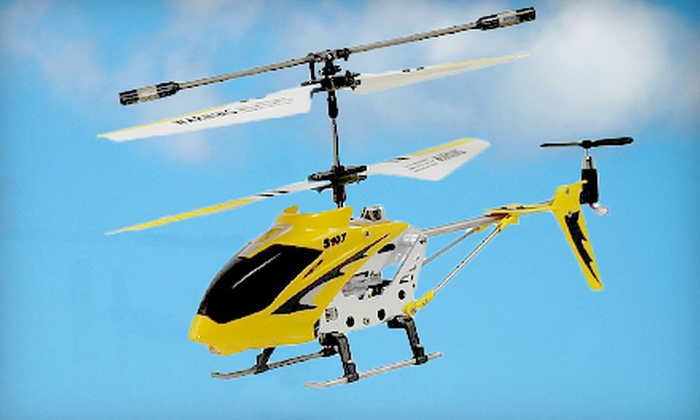 DinoDirect: $26 for a Super Syma S107 C3H Mini Remote-Control Helicopter from DinoDirect ($60.19 Value)