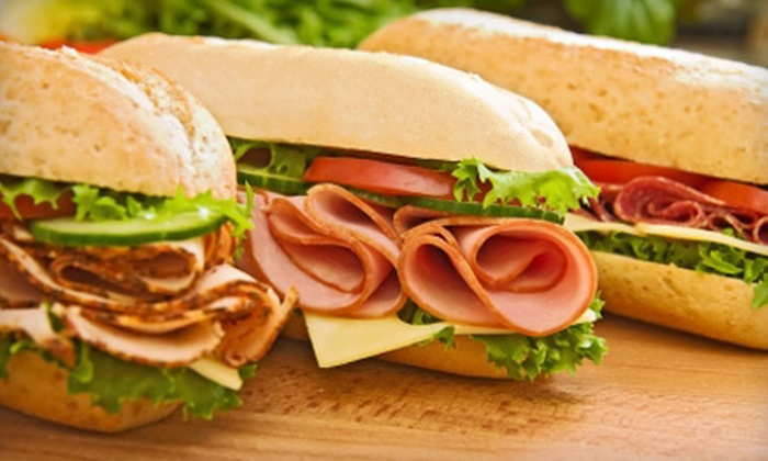 Our Town Deli - Garfield Park: Deli Meal with Sandwich and Fountain Drink for Two or Four at Our Town Deli in Wyoming (Up to $54% Off)