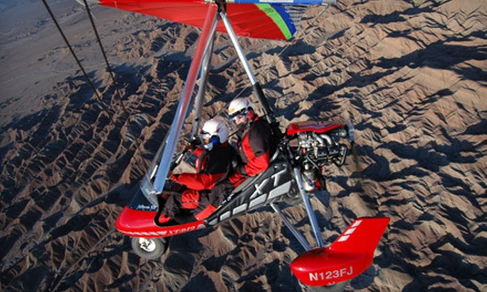 Arizona Trike School - Willcox: 30- or 50-Minute Discovery Trike Flight at Arizona Trike School in Willcox (Up to 58% Off)