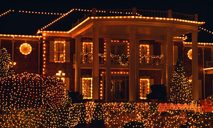 Edwards' Lawn Maintenance - Pensacola / Emerald Coast: Holiday-Light Installation Packages from Edwards' Lawn Maintenance (Up to 75% Off). Three Options Available.