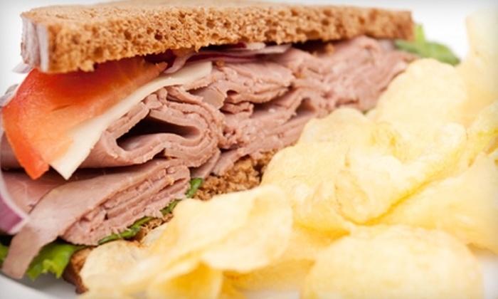 Manhattan Sandwich Company - Marblehead: $5 for $10 Worth of Deli Fare and Drinks at Manhattan Sandwich Company