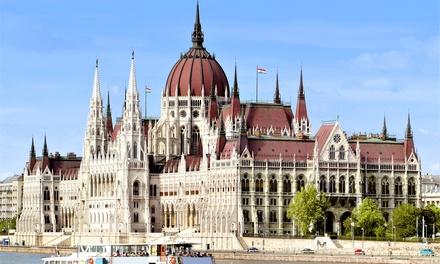 ✈Budapest: volo da Milano o Roma e fino a 4 notti in hotel 3* con crociera sul Danubio per una persona. Tasse incluse