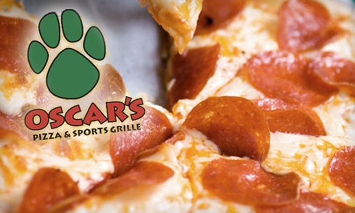Oscar's Pizza & Sports Grille - West Omaha: $15 for $30 Worth of Pizza and Grill Fare at Oscar's Pizza & Sports Grille