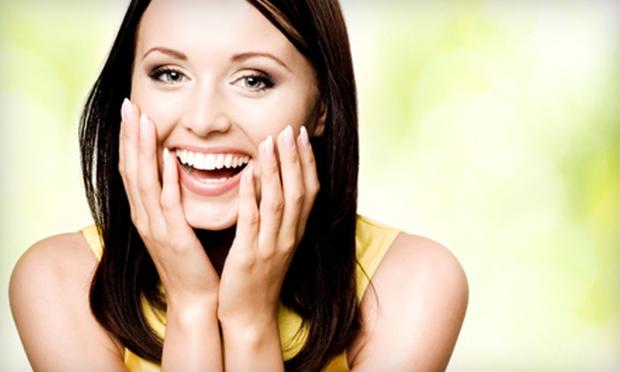 Nailed! - East Central: $59 for Mini Facial, Teeth Whitening, and Pedicure at Nailed! (Up to $155 Value)