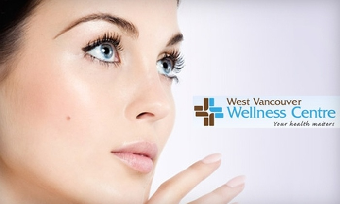 West Vancouver Wellness Centre - Ambleside: $69 for a Naturopathic Sapphire Microdermabrasion and Cool Light Therapy Treatment at West Vancouver Wellness Centre ($185 Value)