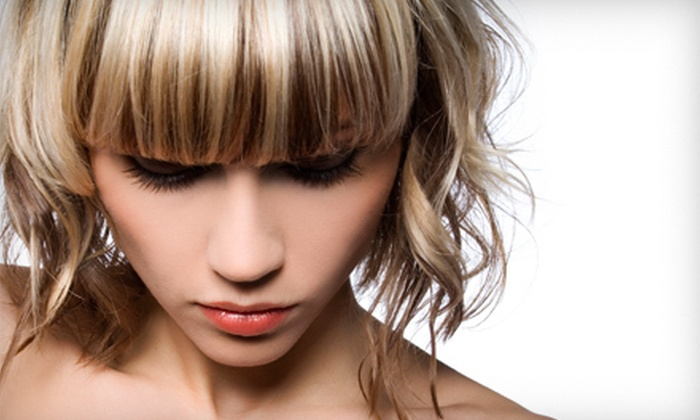 Reflections Hair Design & Spa - Multiple Locations: Haircut and Colour Services at Reflections Hair Designs & Spa (Up to 66% Off). Three Options Available.