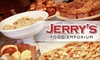 $7 for Dining at Jerry's Food Emporium