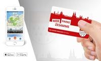 25 € Parkguthaben in teilnehmenden Parkhäusern von cleverPARKEN