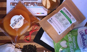 GetKombucha: Kombucha Starter Kit, or $35 Worth of Kombucha-Brewing Supplies from GetKombucha.com