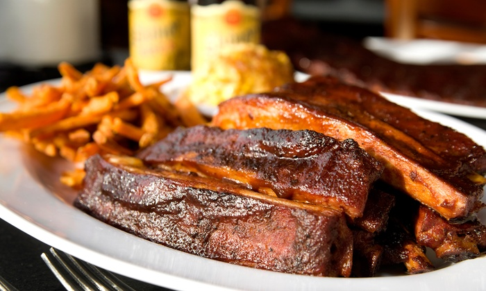 Slabtown Ribs & BBQ - Northwest District: $10 for $20 Worth of Barbecue Dinner at Slabtown Ribs & BBQ