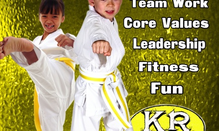 Four Weeks of Unlimited Martial Arts Classes at The Kontrol Room Multi-system Martial Arts (54% Off)