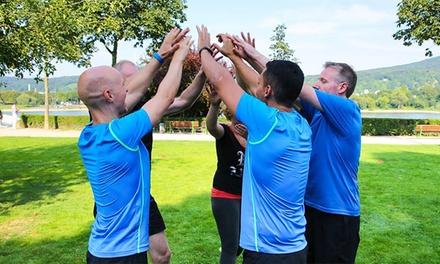 3 Einheiten Functional Training Outdoor à 60 Min. für 1, 2, 3 od. 4 Personen mit FMT Bonn (bis zu 61% sparen*)