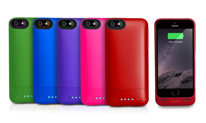 premium selection 71a0b 7943c Mophie Charger Case for iPhone 5/5s | Groupon