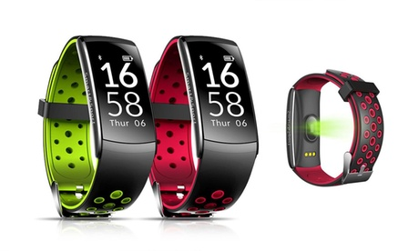 One or Two Smartwrist Multi-Function Activity Trackers in Choice of Colour